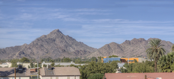 This Biltmore Phoenix Arizona home for sale is located in the Leed-H certified gated community of Galleries of Turney.