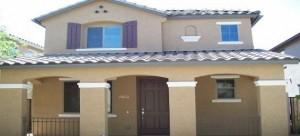 This Gilbert Arizona property is in the community of the Villages at Spectrum.