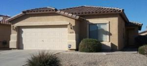 Spacious greatroom in this Maricopa Arizona home in the community of Rancho El Dorado.