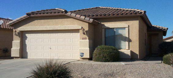 Spacious greatroom in this Maricopa Arizona home in the community of Rancho El Dorado.