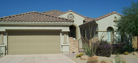 Rental home in Aviano at Desert Ridge in North Phoenix Arizona.
