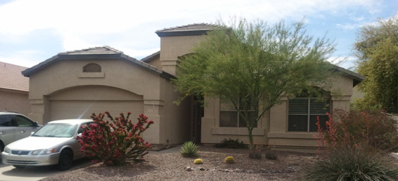 Gilbert home for sale in the community of Carol Rae Ranch.  Great property for family or investor.