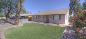 This Tempe home for sale will not last long on the market being so close to Arizona State University.
