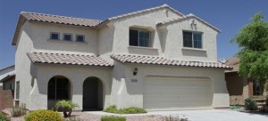 This Florence Arizona home for sale is near Phoenix and in located in Anthem at Merrill Ranch.