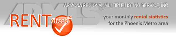 Greater Phoenix rental home statistics also relating to Phoenix residential home sales.