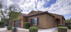 New home for sale listing in the North Phoenix community of Fireside at Desert Ridge.