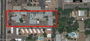 This 14 unit Phoenix Arizona investment real estate is an opportunity for anyone looking for multi-family residential buildings.