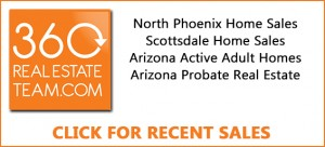 Sales numbers for North Phoenix and Scottsdale homes.