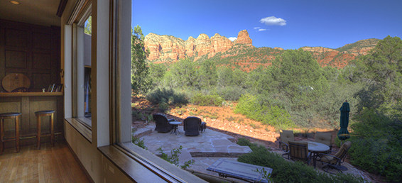 This Highland Estates custom home for sale is in the Sedona Arizona community of Highland Estates.