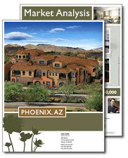 Download the 12 month report for homes sales in your area of Phoenix Arizona.
