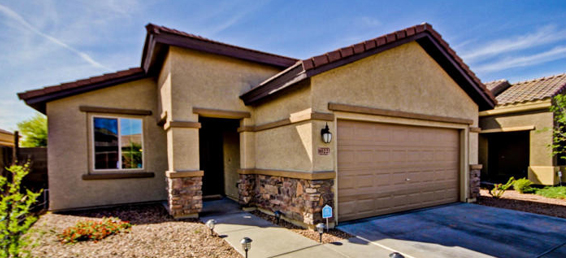 This Laveen Meadows home for sale in Arizona has a great floor plan and is solar powered.