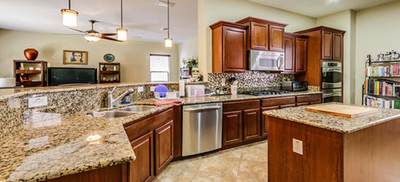 This home for sale in the Stetson Valley area of North Phoenix AZ has a beautiful gun room that was built by the owner.