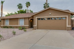 This Scottsdale home for sale in 85254 has been recently remodelled.