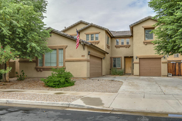 This Surprise Arizona home for sale is located within the popular gated community of Copper Canyon Ranch.
